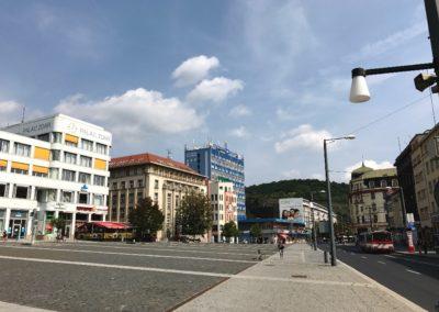 Mírové náměstí Ústí nad Labem 1